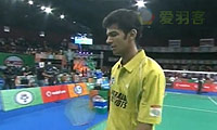 贾亚拉姆VS加卢西达 2013印度羽毛球联赛 男单决赛视频