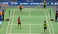 王晓理/于洋VS沙威丽/娜丽莎帕 2013中国大师赛 女双1/8决赛视频