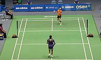 约根森VS周天成 2013中国大师赛 男单1/8决赛视频