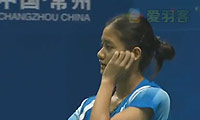 蓬迪VS李雪芮 2013中国大师赛 女单半决赛视频
