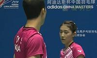 柳延星/严惠媛VS陆基/安妮莎 2013中国大师赛 混双1/4决赛视频