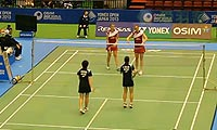 佩蒂森/尤尔VS星千智/樱本绚子 2013日本公开赛 女双1/8决赛视频