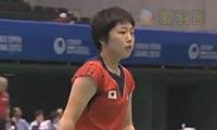 山口茜VS打田志津香 2013日本公开赛 女单决赛视频