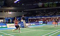 陶菲克VS奈良岡功大 2013日本公开赛 男单表演赛视频