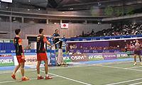 阿山/塞蒂亚万VS柴飚/洪炜(自拍版) 2013日本公开赛 男双决赛视频