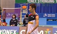 李宗伟VS阮天明(自拍版 第一局) 2013日本公开赛 男单半决赛视频