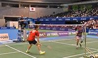 李宗伟VS田儿贤一(自拍第一局) 2013日本公开赛 男单决赛视频