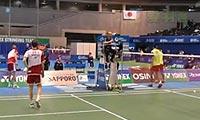 柴飚/洪炜VS鲍伊/摩根森(自拍二三局) 2013日本公开赛 男双半决赛视频