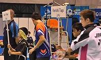 田儿贤一VS高欢(自拍第一局) 2013日本公开赛 男单半决赛视频