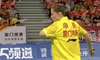 申克VS孙瑜 2013中国羽超联赛 女单资格赛视频