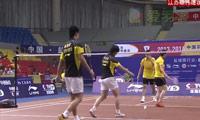 陶嘉明/何冰娇VS何汉斌/冯晨 2013中国羽超联赛 混双资格赛视频