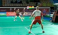 克里斯蒂安森/霍曼VS雷扎/苏珊托 2013丹麦公开赛 混双1/16决赛视频
