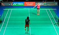 陈祉嘉VS高桥沙也加 2013丹麦公开赛 女单1/16决赛视频
