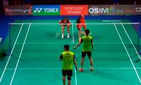 蔡赟/柴飚VS刘小龙/邱子瀚 2013丹麦公开赛 男双1/8决赛视频