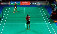成池铉VS陈祉嘉 2013丹麦公开赛 女单1/8决赛明仕亚洲官网