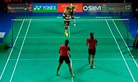 王晓理/于洋VS潘乐恩/谢影雪 2013丹麦公开赛 女双1/8决赛视频