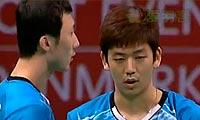 李龙大/柳延星VS阿山/塞蒂亚万 2013丹麦公开赛 男双决赛视频