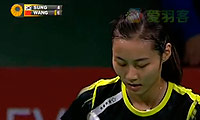 王仪涵VS成池铉 2013丹麦公开赛 女单决赛视频