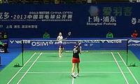 高桥沙也加VS邓旋 2013中国公开赛 女单1/16决赛视频