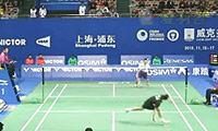 胡赟VS陈跃坤 2013中国公开赛 男单1/16决赛视频