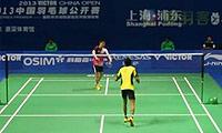 孙完虎VS贾亚拉姆 2013中国公开赛 男单1/16决赛明仕亚洲官网