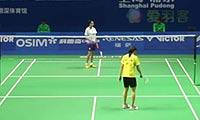 因达农VS惠夕蕊 2013中国公开赛 女单1/8决赛视频