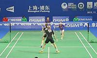 张楠/赵芸蕾VS埃利斯/L.史密斯 2013中国公开赛 混双1/8决赛视频