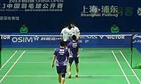 蔡赟/柴飚VS刘小龙/邱子瀚 2013中国公开赛 男双1/4决赛视频