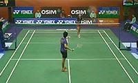 高桥沙也加VS陈嘉园 2013香港公开赛 女单1/16决赛视频