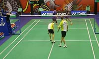 刘小龙/邱子瀚VS博世/雷德 2013香港公开赛 男双1/16决赛视频
