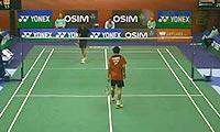 胡赟VS桃田贤斗 2013香港公开赛 男单1/16决赛视频
