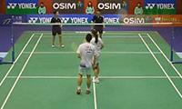 刘成/包宜鑫VS李晋熙/周凯华 2013香港公开赛 混双半决赛视频