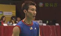 李宗伟VS索尼 2013香港公开赛 男单决赛视频