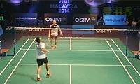李宗伟VS波萨那 2013世界羽联总决赛 男单资格赛视频