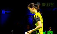 李雪芮VS戴资颖 2013世界羽联总决赛 女单决赛明仕亚洲官网
