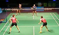 张艺娜/金昭映VS皮娅/普拉蒂普塔 2013世界羽联总决赛 女双资格赛视频