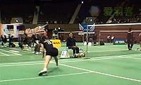 山口茜VS伊东可奈 2013日本全国锦标赛 女单资格赛视频