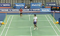 韩利VS山口茜 2014韩国公开赛 女单1/8决赛视频