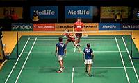 乔丹/苏珊托VS陈毅权/赖沛君 2014马来公开赛 混双资格赛视频