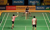 苏吉特/莎拉丽VS兰格瑞奇/奥利弗 2014马来公开赛 混双1/16决赛视频