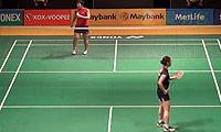 山口茜VS三谷美菜津 2014马来公开赛 女单1/8决赛视频