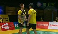 吴伟申/林钦华VS玛尼蓬/尼迪蓬 2014马来公开赛 男双1/8决赛视频