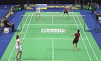 克鲁斯/罗布克VS科拉莱斯/马琳 2014欧洲团体锦标赛 女双1/4决赛视频
