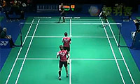 郑景银/金荷娜VS阿凡达/哈里斯 2014瑞士公开赛 女双1/16决赛视频