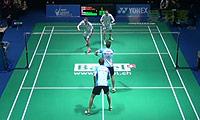 鲍伊/摩根森VS博世/雷德 2014瑞士公开赛 男双1/8决赛视频