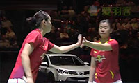 包宜鑫/汤金华VS尼蒂娅/波莉 2014瑞士公开赛 女双决赛视频