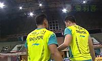 克里斯南塔/奇雅加特VS安德烈/古纳万 2014马来黄金赛 男双半决赛视频