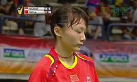姚雪VS菲尔达萨里 2014马来黄金赛 女单决赛视频
