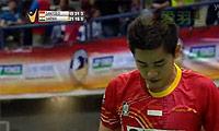 西蒙VS维尔马 2014马来黄金赛 男单决赛视频