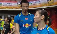 鲁恺/黄雅琼VS乔丹/苏珊托 2014马来黄金赛 混双决赛视频